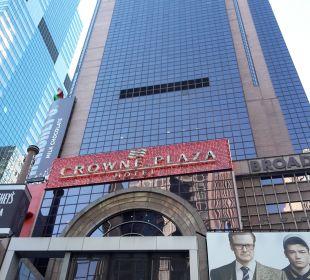 Von außen Crowne Plaza Hotel Times Square Manhattan
