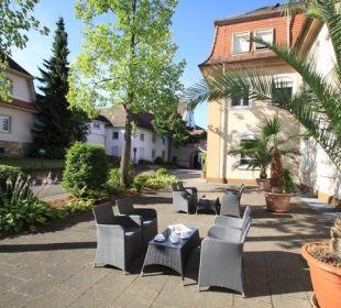 Lounge im Eingangsbereich Kloster Maria Hilf