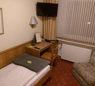 Überblick Einzelzimmer Hotel Schmidt-Mönnikes