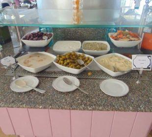 Diverse Dips und Saucen Hilton Hurghada Plaza