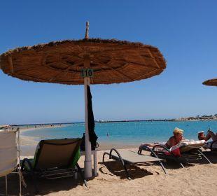 Wunderschöner Blick von der Liege aus Dana Beach Resort