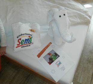 Nette Überraschung Kinderhotel SEMI