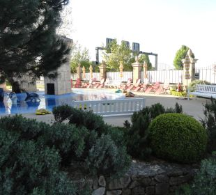 Blick von unserem Zimmer Hotel Colosseo Europa-Park