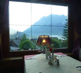 Aussicht vom Restaurant Hotel Rustika