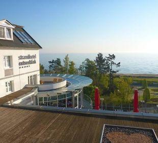 Blick auf Ostsee Strandhotel Ostseeblick