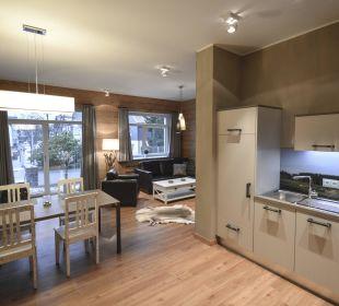 Appartement 2 - Wohnzimmer Stadt Chalet