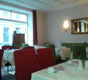 Frühstücksbereich Altstadthotel und Residenz Wolf-Dietrich