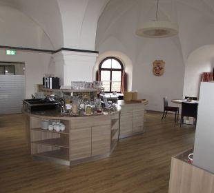 Frühstücksbuffet Hotel Schatz.Kammer Burg Kreuzen