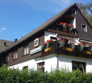 Hauptansicht Hotel-Pension Altes Forsthaus