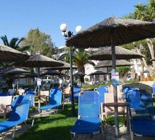 Corissia Park Sonnenbereich Hotel Corissia Beach