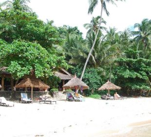 Strand des Resort Hotel Sipalay Easy Diving and Beach Resort