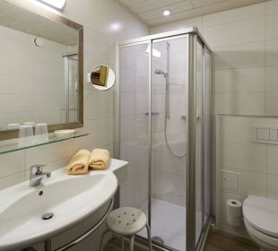 Badezimmer Hotel Rustika