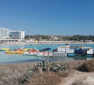 Am Nissi Island in Richtung Nissi Plage Hotel Hotel Nissi Beach Resort