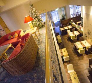 Blick auf Restaurant Inselhotel König