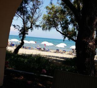 Meerblich von Strandbar Hotel Louis Zante Beach