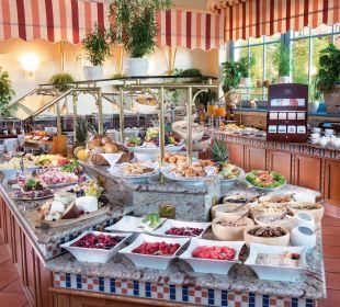 Frühstücksbuffet Hotel Travel Charme Kurhaus Sellin