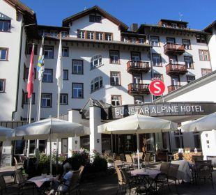 Alter Bau - bestens in Schuss gehalten Sunstar Alpine Hotel Flims