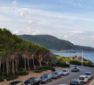 Blick vom Balkon Hotel & Spa S'Entrador Playa