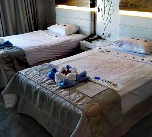 Zimmer bei Anreise. SENTIDO Gold Island