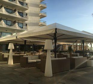 Terasse am Pool Hotel Playa Golf