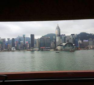 Das 2. Zimmer mit tollem Blick Hotel InterContinental Hong Kong