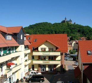 Innenhof Apart Hotel Wernigerode