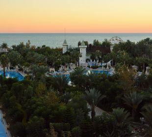 Sonnenaufgang aus Zimmer 3048 Hotel Delphin Imperial