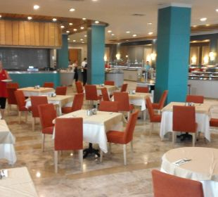 Großes Restaurant Sherwood Dreams Resort