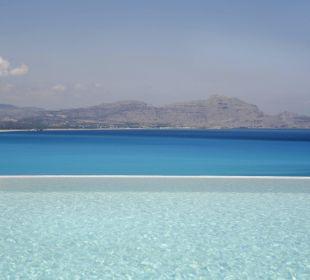 Infinity Pool Hotel Lindos Blu