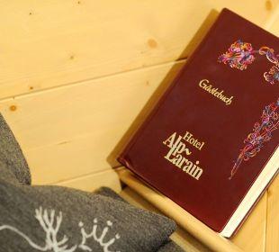 Gästebuch Hotel Alp Larain