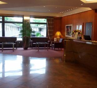 Ankunft im Hotel Best Western Hotel Hamburg International