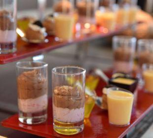 Dessertbuffet Hotel Corissia Beach