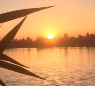 Traumhafte Sonneuntergänge Achti Resort Luxor