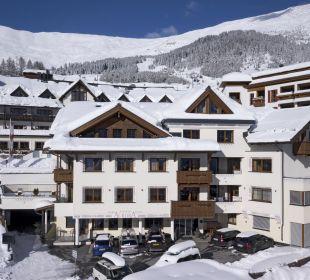 Ansicht Winter Hotel Apart Aurora