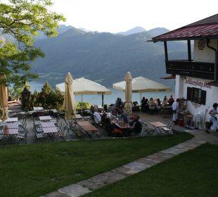 Biergarten Alpenhotel Schliersbergalm