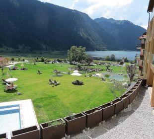 Blick von unserem Balkon   Romantik Resort & Spa Der Laterndl Hof