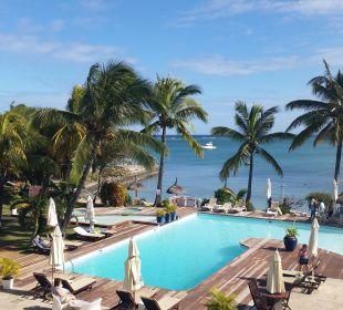 Poolbereich Coral Azur Beach Resort