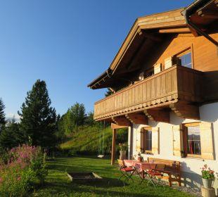 Außenansicht Alpin-Ferienwohnungen Hochzillertal