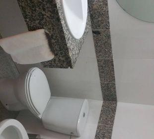 Badezimmer Hotel Abrat