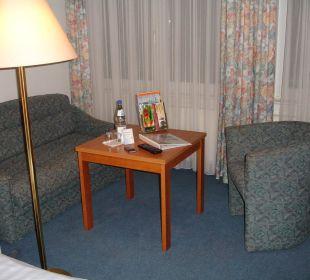 Der hintere Teil der Suite Hotel Forelle
