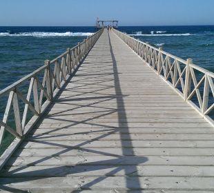 Der Steg zum Riff