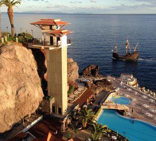 Meerwasserpool und Kinderpool Hotel The Cliff Bay (PortoBay)