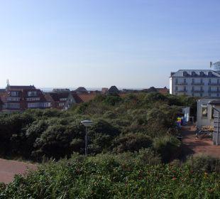 Kurhaus aus Sicht der Hohen Düne Strandhotel Kurhaus Juist