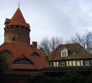Gartenhaus rechts Ringhotel Schloss Tangermünde
