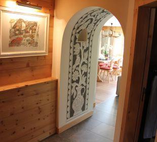 Eingang Odal-Suite Hotel Walserhof