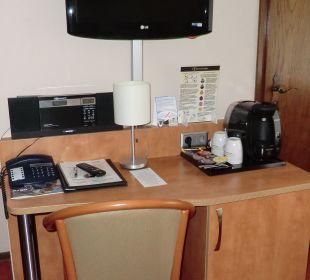 Ausstattung des Zimmers Hotel Bockelmann