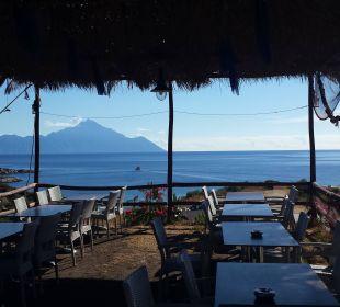 Blick von der Restaurantterrasse Hotel Maistrali