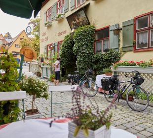 Eingang vom Hotel  Flair Hotel Weisses Roß
