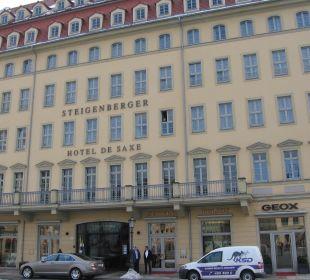 Ansicht vom Neumarkt Steigenberger Hotel de Saxe