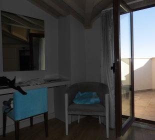 Balkonblick vom Zimmer Bella Resort & Spa
